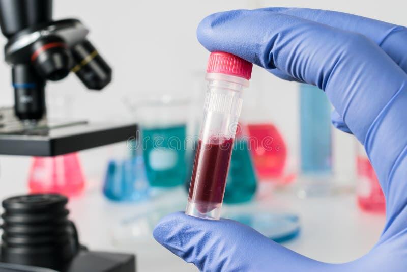 Analyse des Beispiellabors Medizinische Forschung lizenzfreie stockfotografie