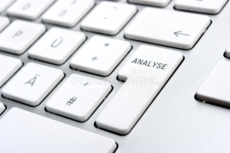 Download Analyse Logo On The PC Keyboard Stock Image - Image of text, laptop: 16724819