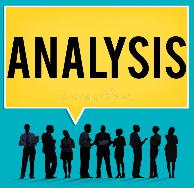 Analyse-Strategie-Studien-Informations-Planungs-Konzept stock abbildung