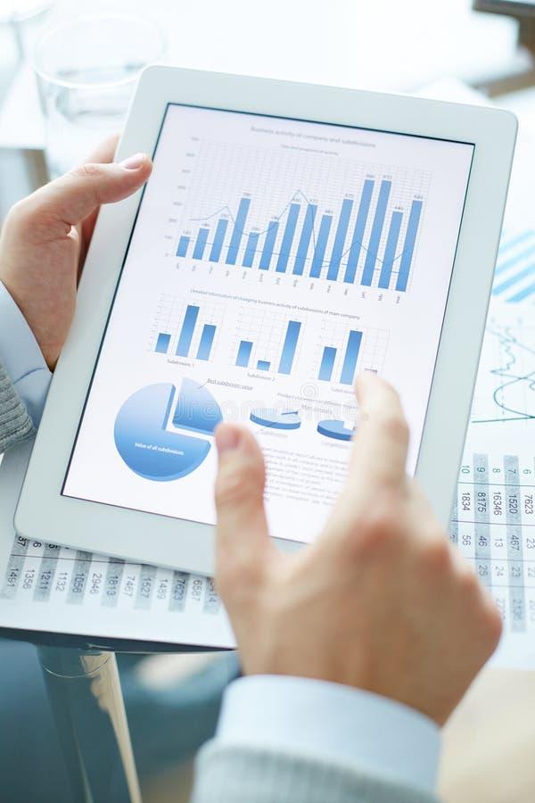 Analyse van gegevens royalty-vrije stock afbeeldingen