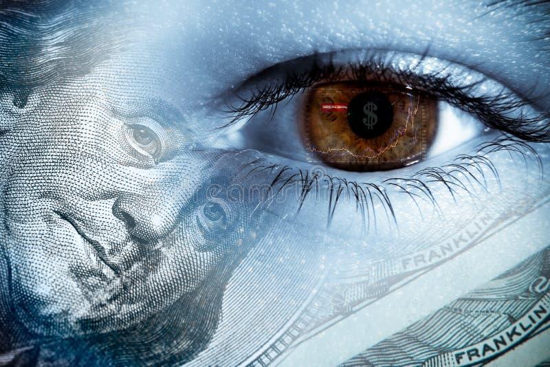 analysera finans royaltyfri foto