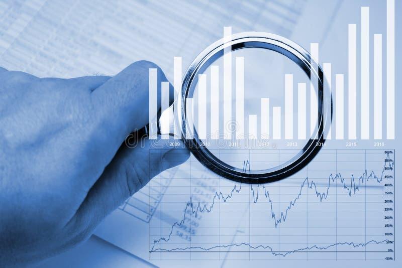 Analyserapporten stock foto's