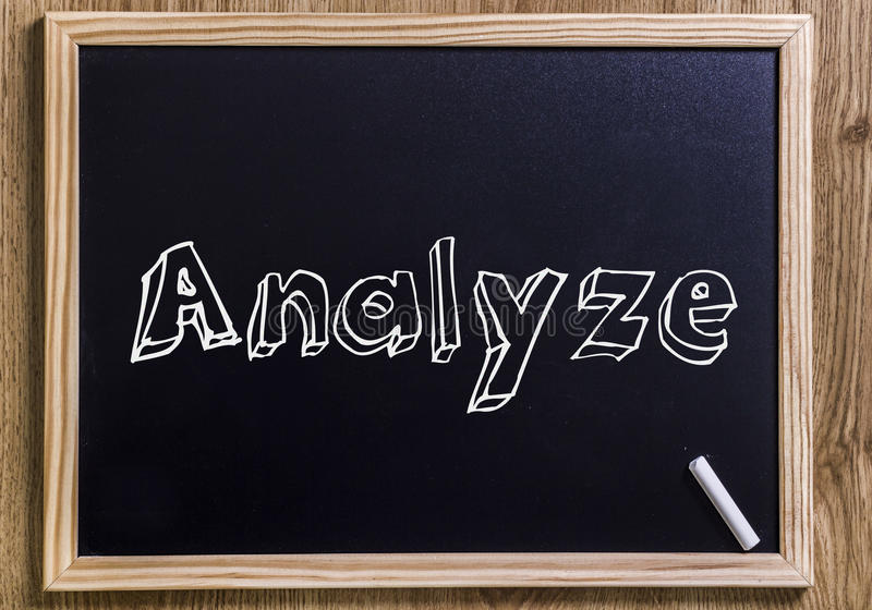 analysez photos stock
