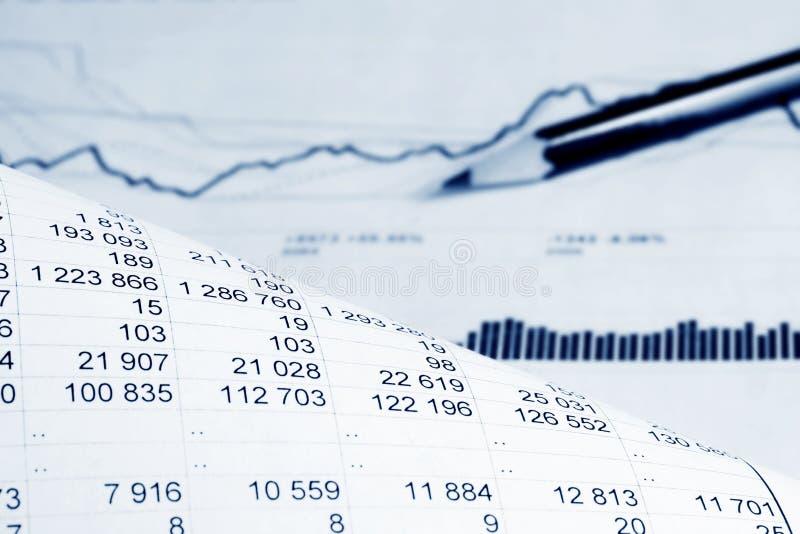analysis financial стоковая фотография