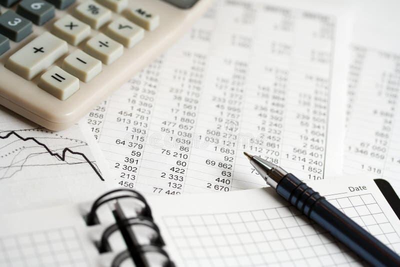 analysis financial 库存图片