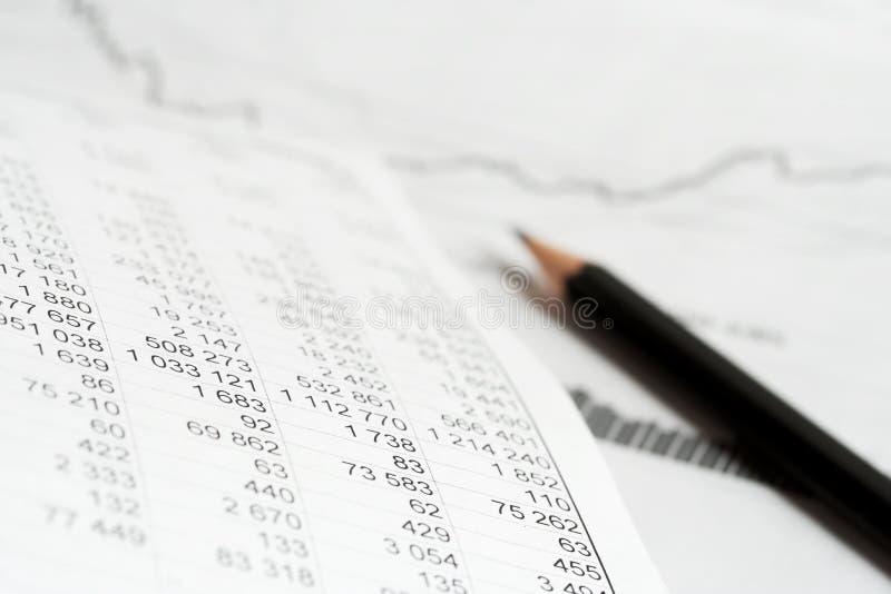 analysis index price arkivfoto