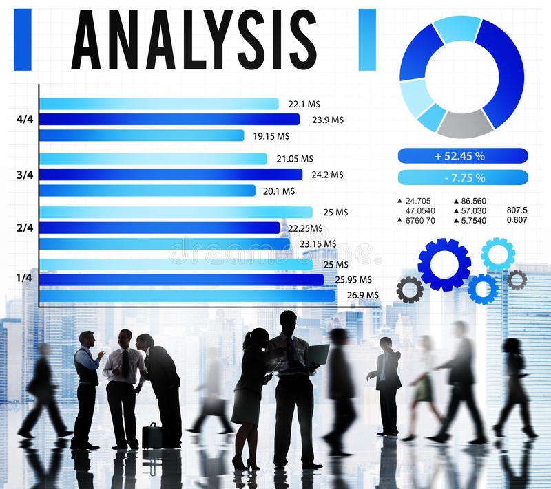 Analysis Information Statistics Strategy Data Concept vector illustration