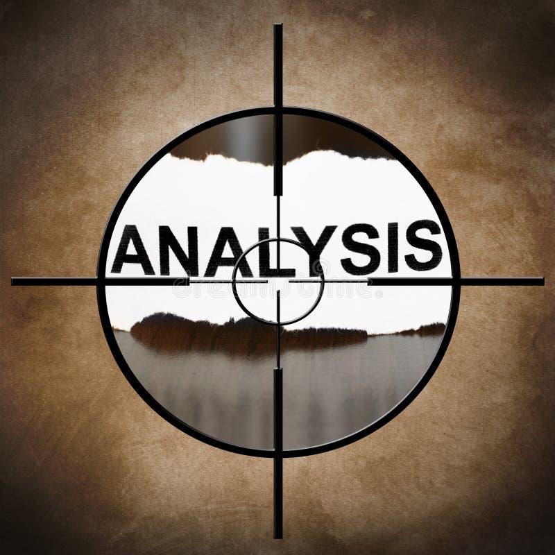 Download Analysis target stock illustration. Image of manage, segment - 31685738