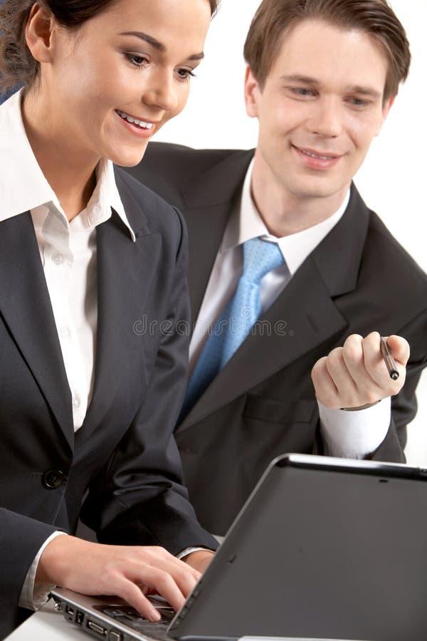 Download Analytic work stock photo. Image of smart, businesspeople - 21562124