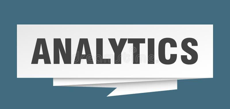 analytics stock illustratie