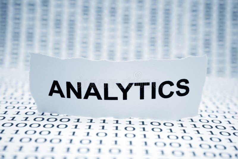 Analytics lizenzfreie stockbilder