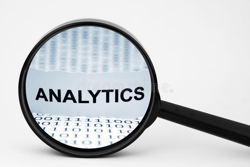 analytics arkivbilder