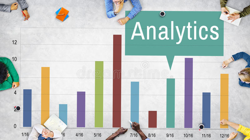 Analytics Analysis Insight Connect Data Concept stock photos