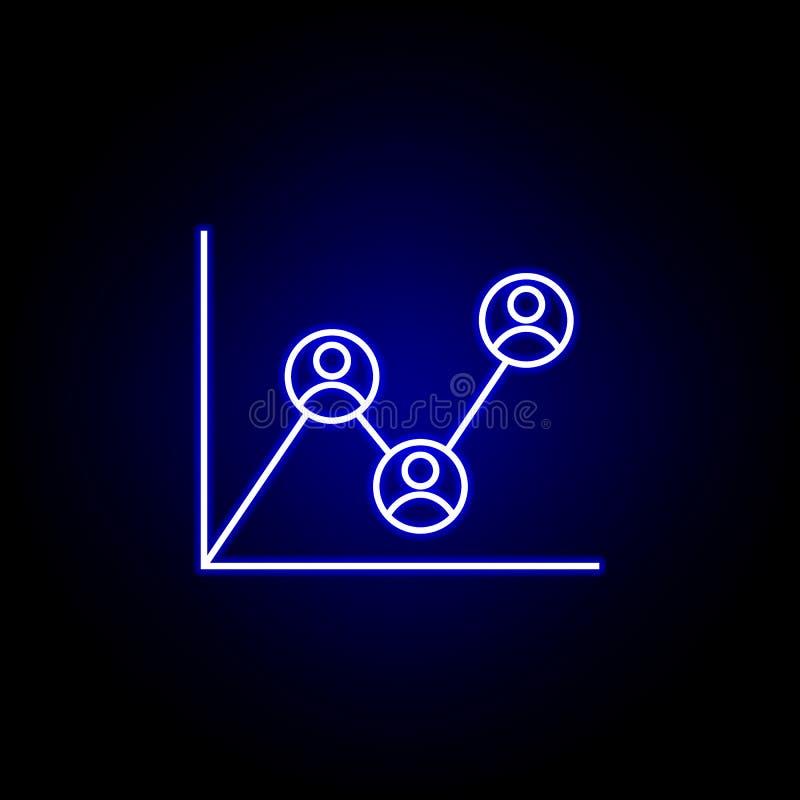 Analytics, Arbeitskraft, Berichtsikone r Zeichen und Symbole k?nnen f?r Netz verwendet werden stock abbildung
