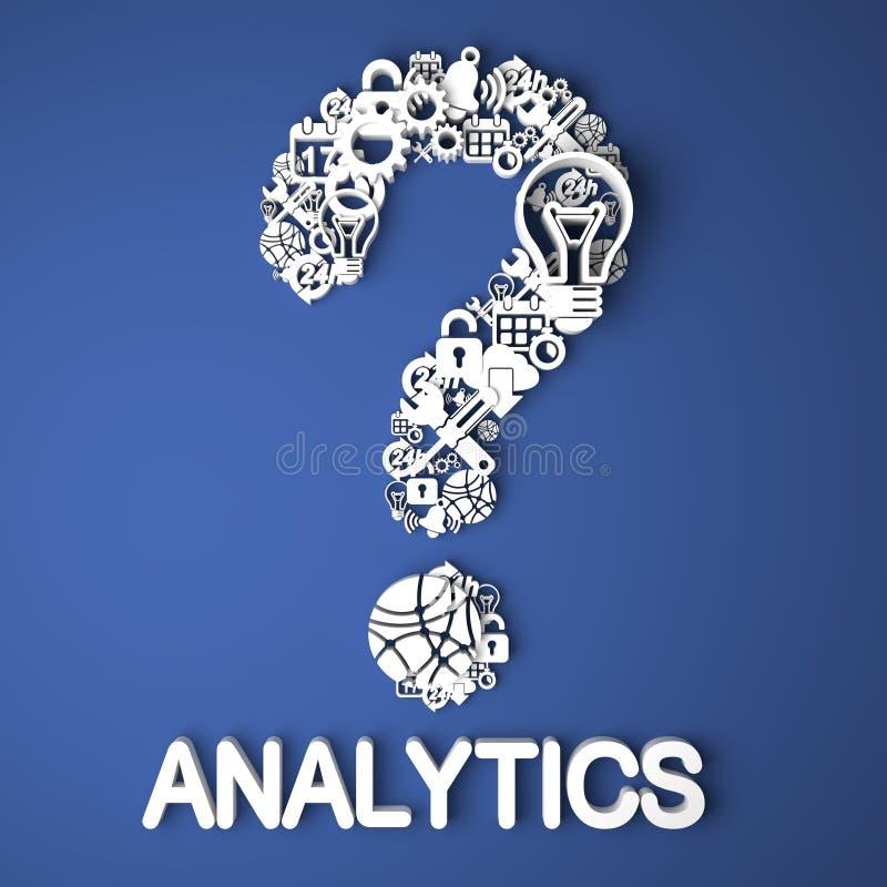 Analytics Concept. royalty free illustration