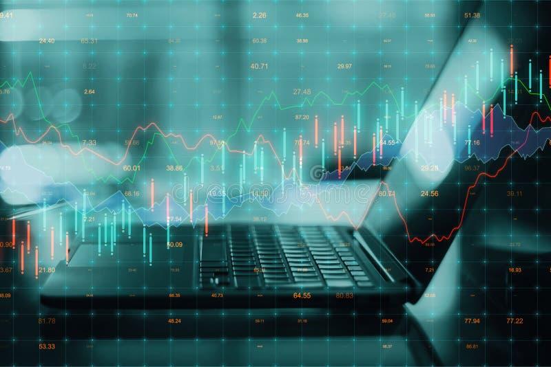 Analytics en analyseconcept royalty-vrije stock afbeelding