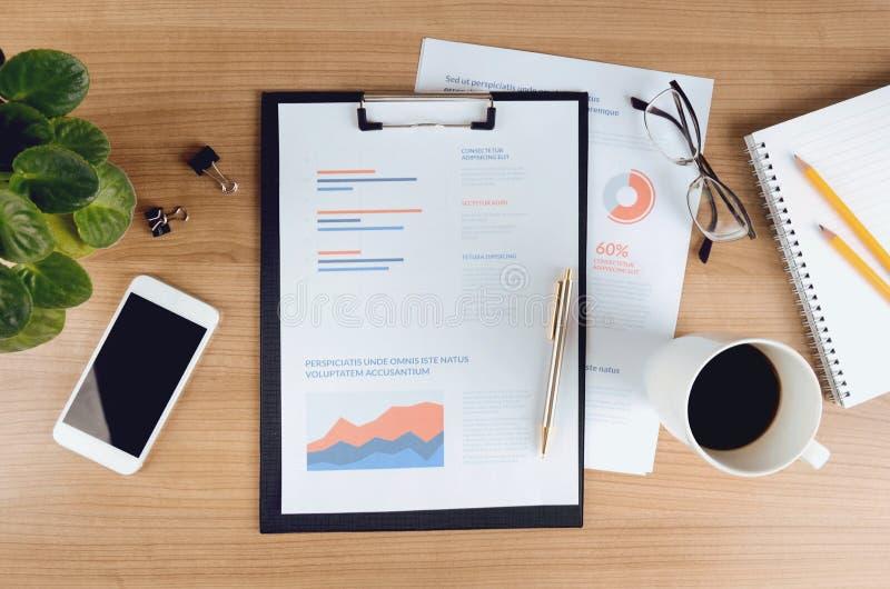 Analytics et stratégie d'affaires images stock