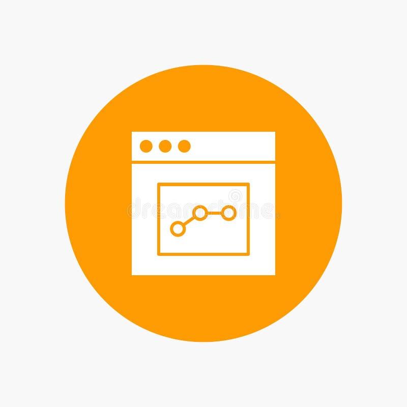 Analytics, Mededeling, Interface, Gebruiker royalty-vrije illustratie