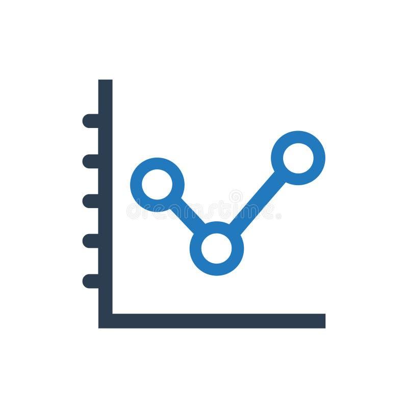 Analytics, Rapportpictogram stock illustratie