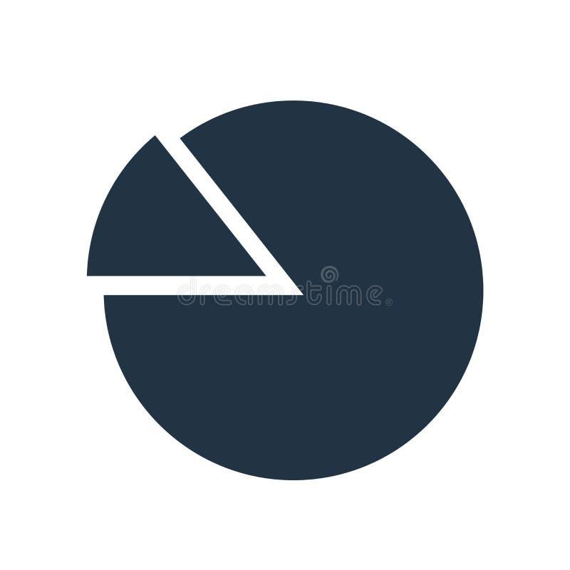 Analyticsikonenvektor lokalisiert auf weißem Hintergrund, Analyticszeichen vektor abbildung