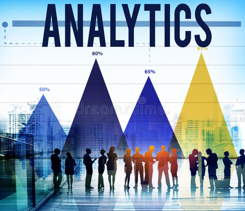 Analytik-Informations-Statistik-Technologie-Verkehrs-Konzept lizenzfreie stockfotos