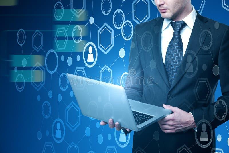 Analytik und Technologiekonzept lizenzfreie stockfotos