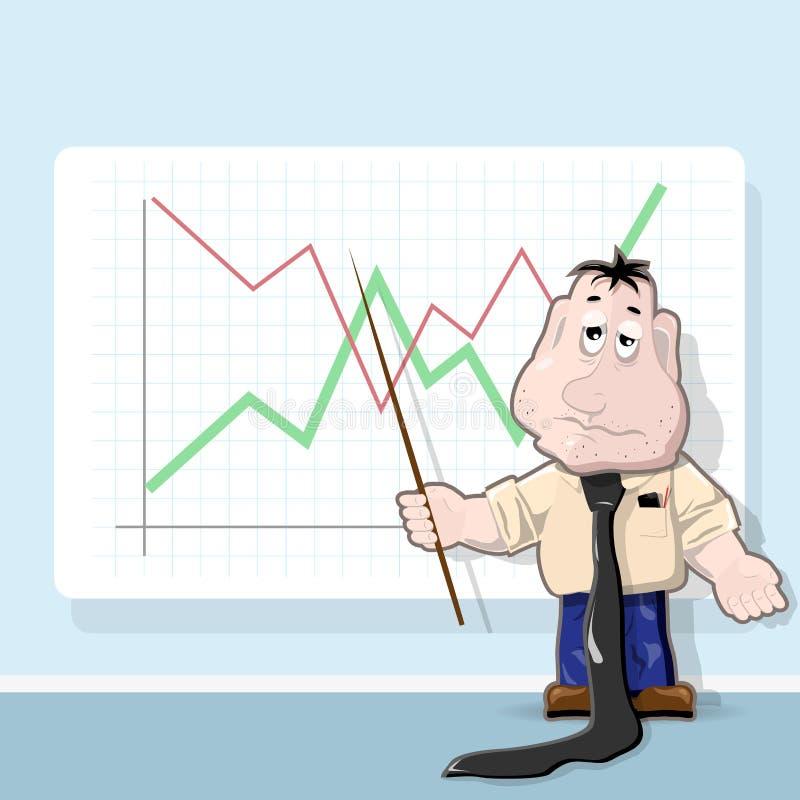 analytiker royaltyfri illustrationer