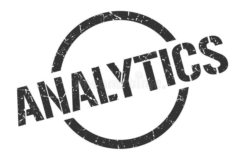 Analytikstempel lizenzfreie abbildung