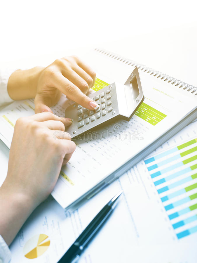 Download Analyzing Business Data stock image. Image of ideas, investment - 25978071