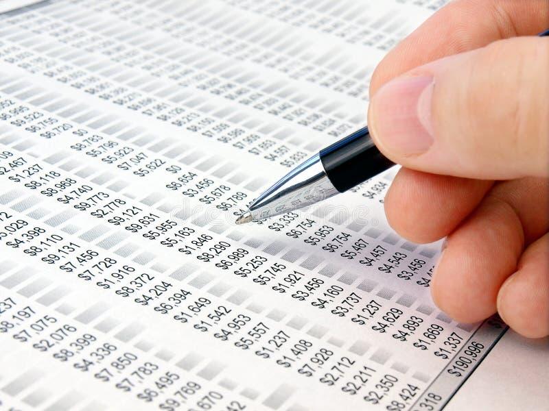 Analyzing data . royalty free stock photos