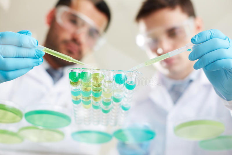 Download Analyzing liquids stock photo. Image of experiment, medical - 34211278