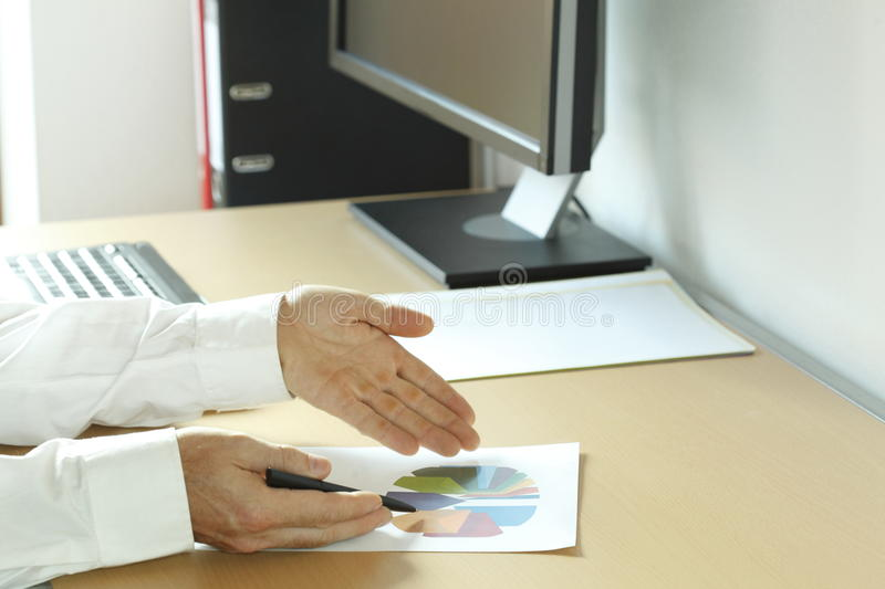 Analyzing In Office Stock Images