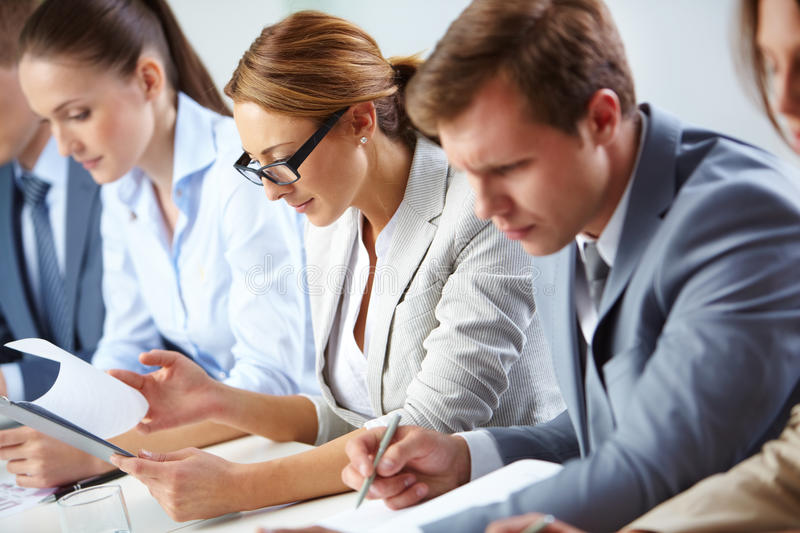 Download Analyzing progress stock photo. Image of focus, colleagues - 27880898
