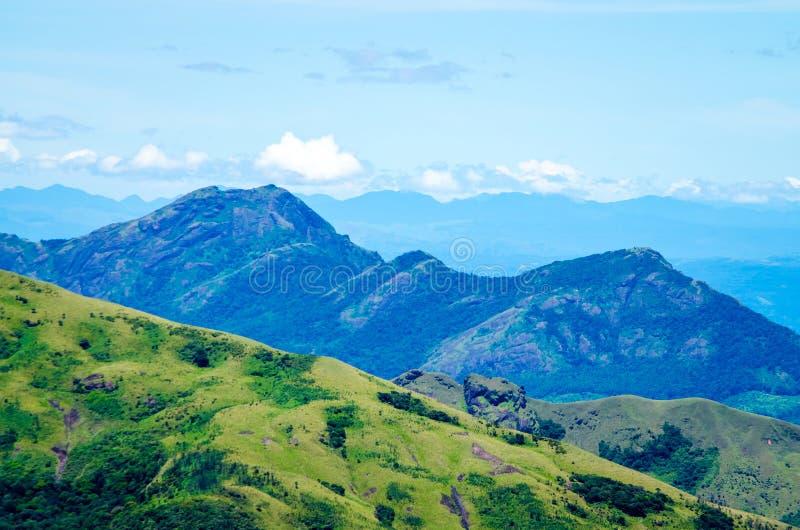 View from a Peak at Anamudi, Munnar, Kerala, India royalty free stock photography