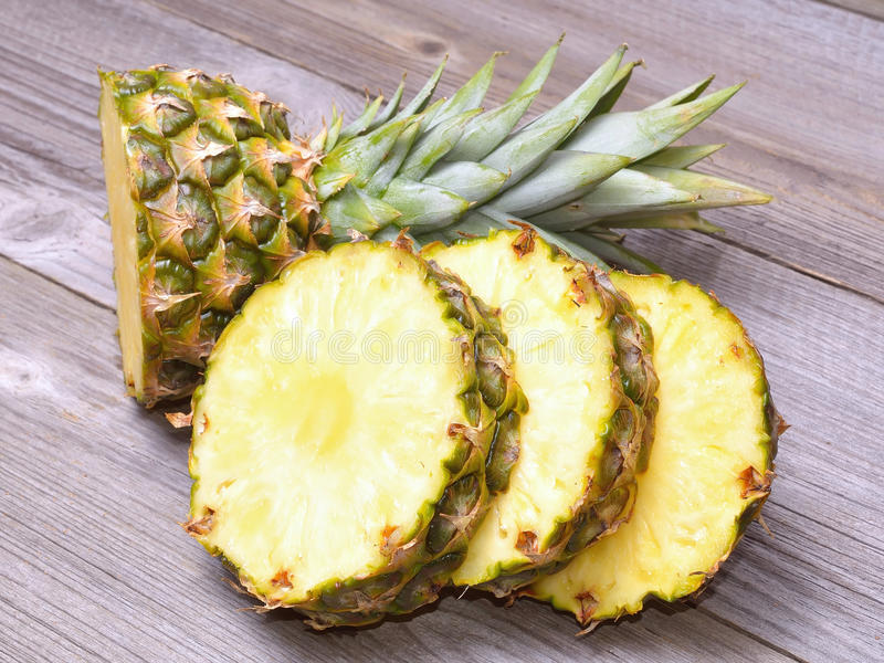 Ananasów plasterki obraz stock