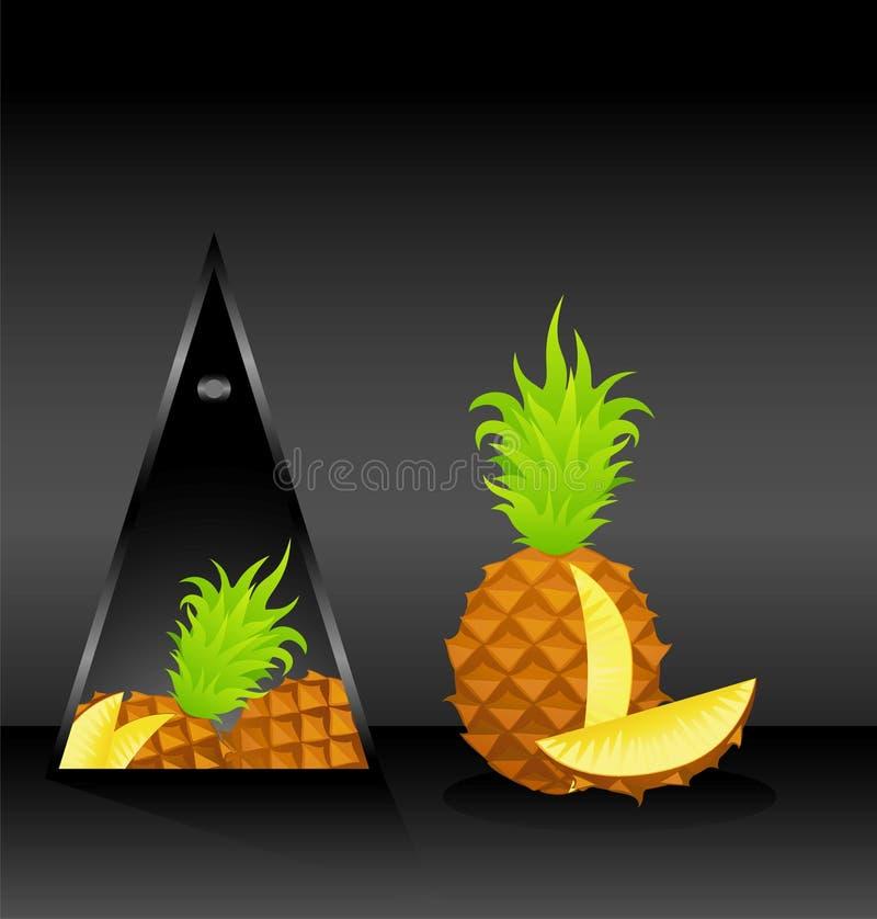 Ananas stock abbildung