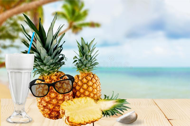 Ananas stock afbeelding