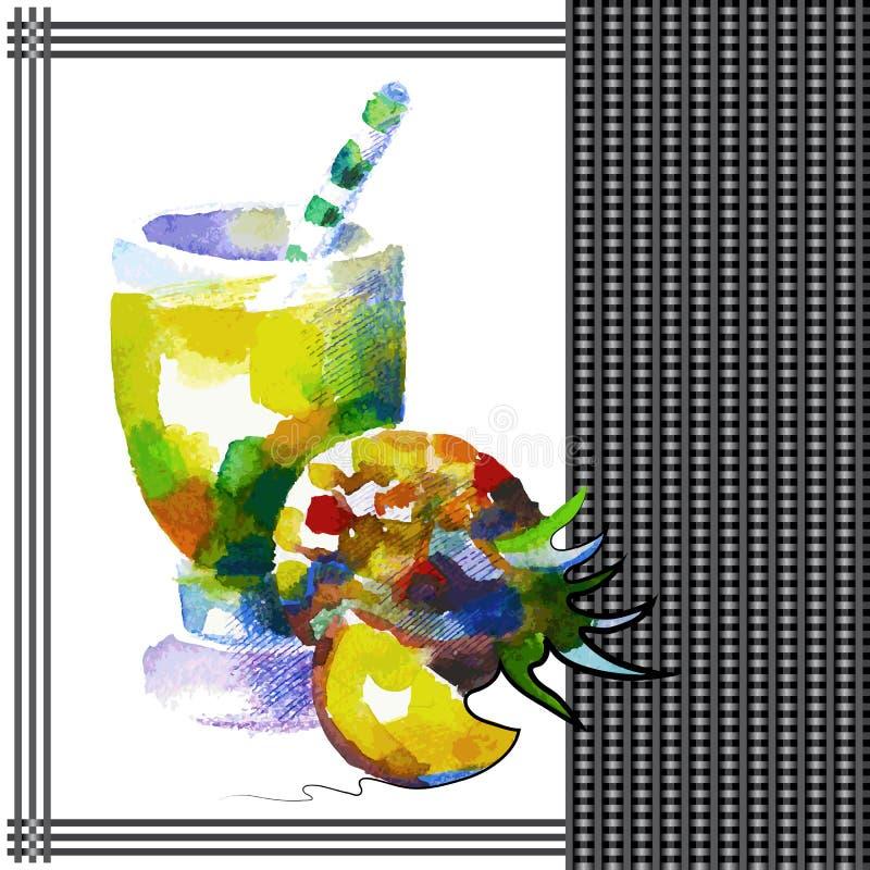 Ananas illustration stock