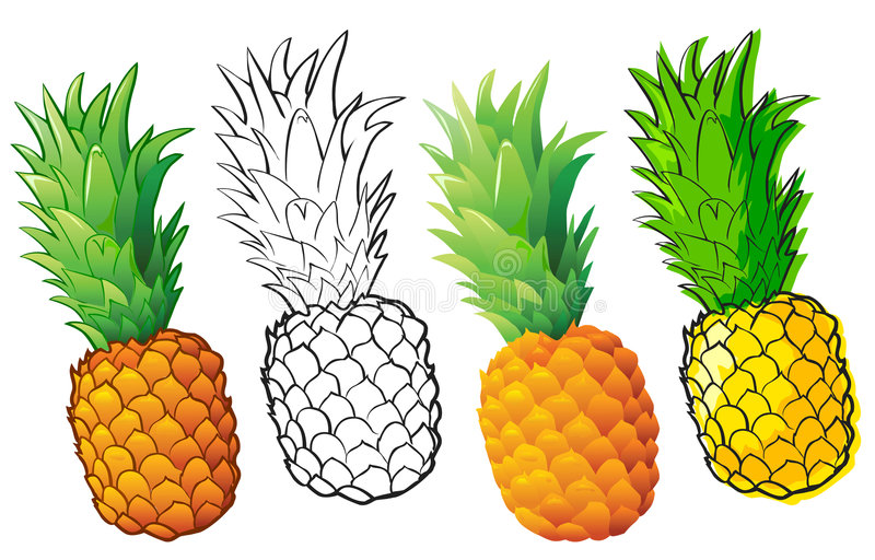 Ananas royalty illustrazione gratis