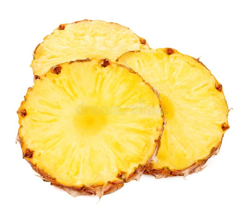 Ananas con le fette immagini stock libere da diritti