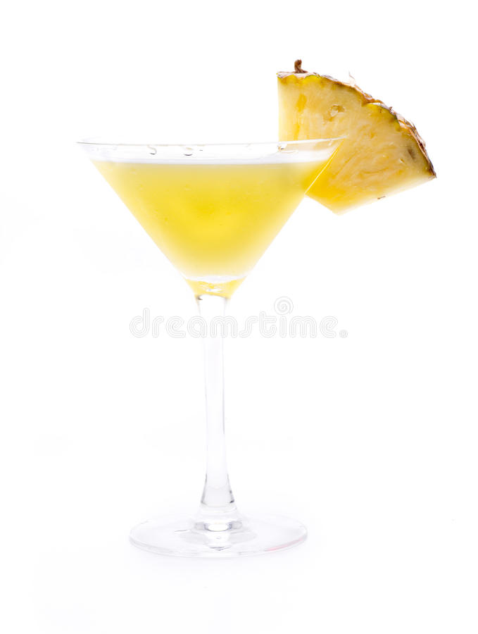 Ananas Daiquiri stockfotografie