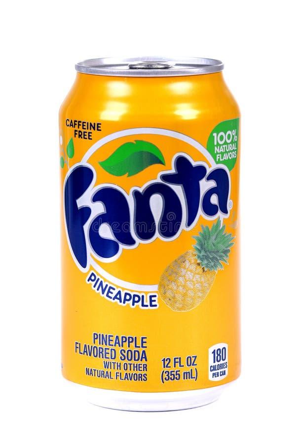 Ananas de Fanta image stock