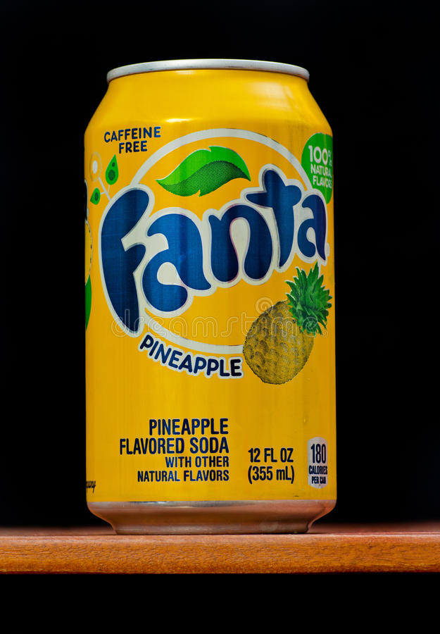 Ananas de Fanta photos stock