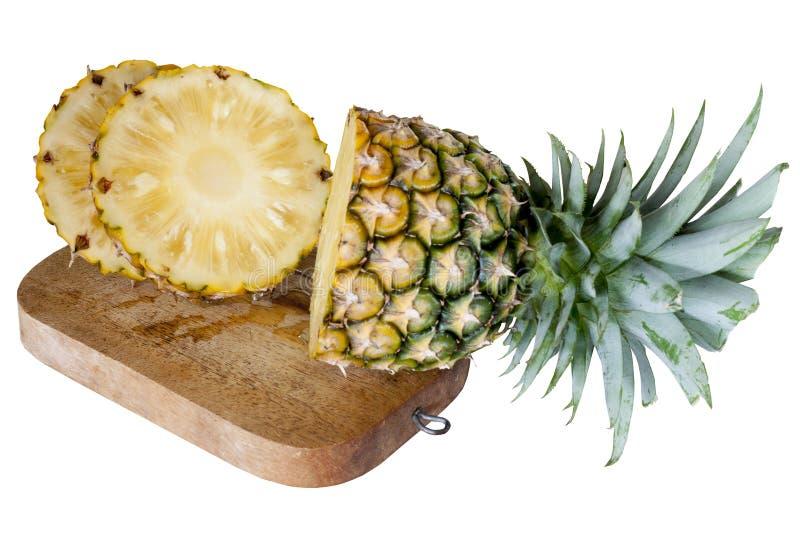 Ananas della frutta affettato immagine stock libera da diritti