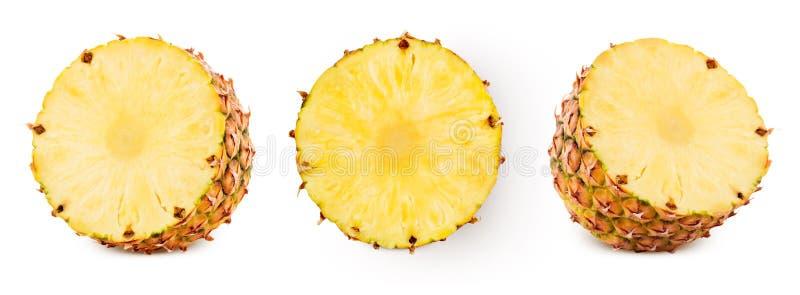 Ananas isolato su bianco immagine stock