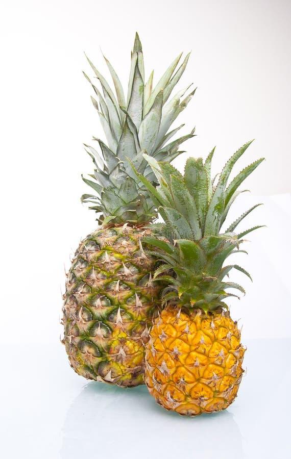 Ananas juteux frais d'isolement photos stock