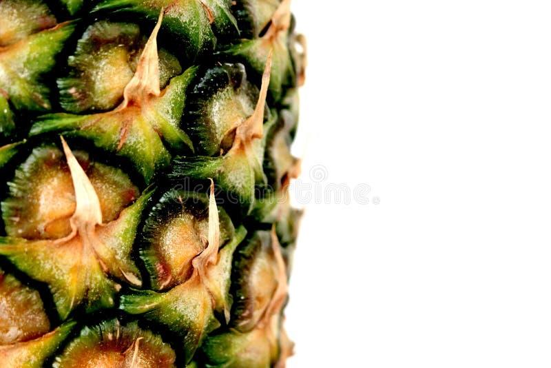 Ananas mûr sur un fond blanc clair images stock