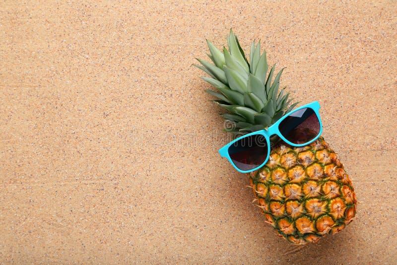 Ananas maturo fotografie stock libere da diritti