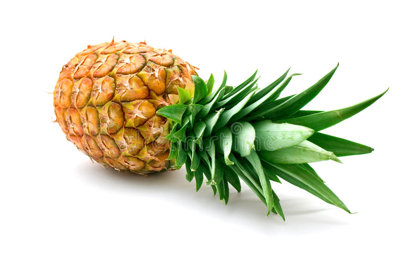 Ananas maturo fresco fotografie stock libere da diritti
