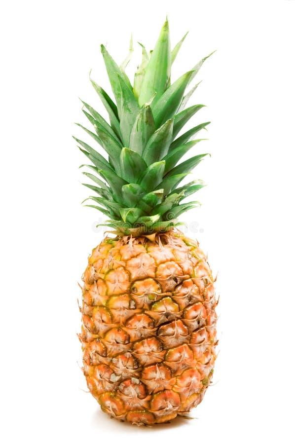 Ananas maturo isolato fotografia stock